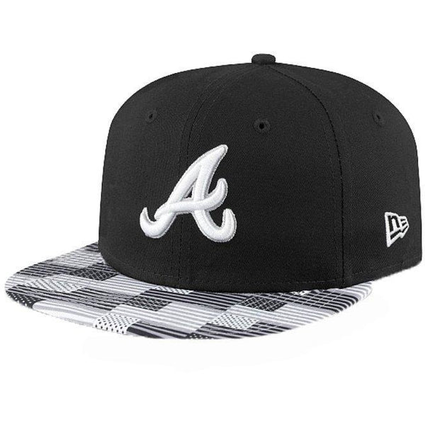 NEW ERA DIGI FLAG ATLANTA BRAVES SNAPBACK - BLACK