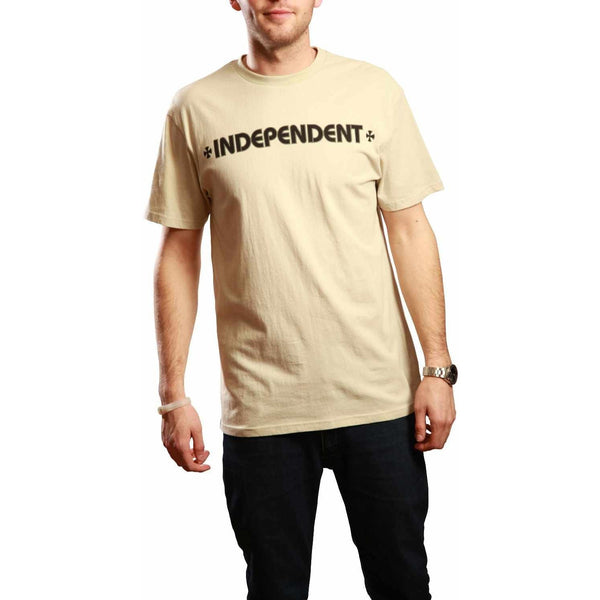 INDEPENDENT TIGER CROSS T-SHIRT - VINTAGE WHITE
