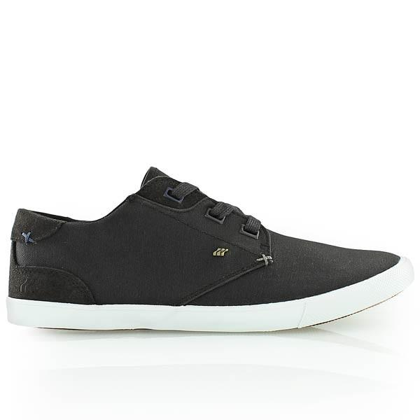 BOXFRESH STERN SHOES  - CHARCOAL/BLUE