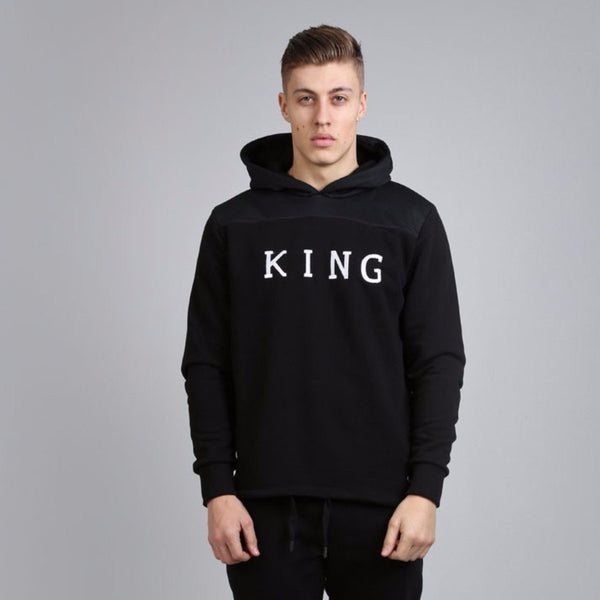 KING APPAREL PERF HOODIE - BLACK
