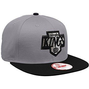 NEW ERA NHL COTTON BLOCK LA KINGS SNAPBACK - GREY