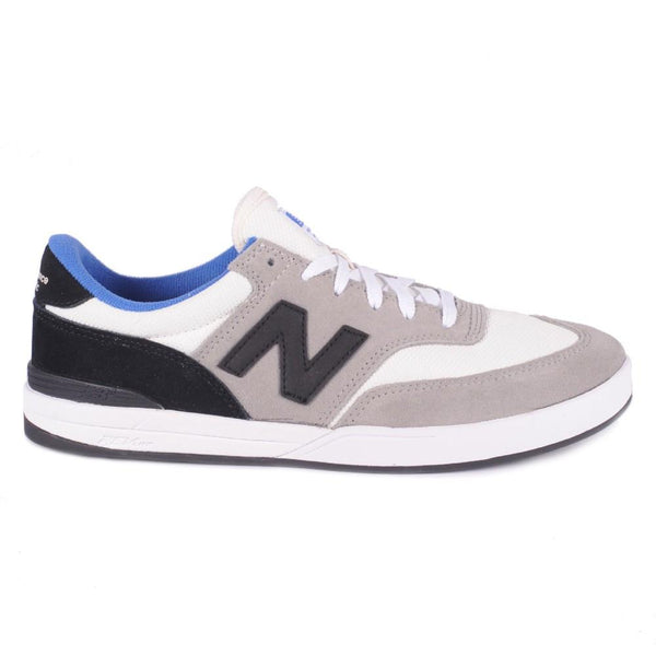 NEW BALANCE ALLSTON 617 SKATE SHOES - GREY/BLACK