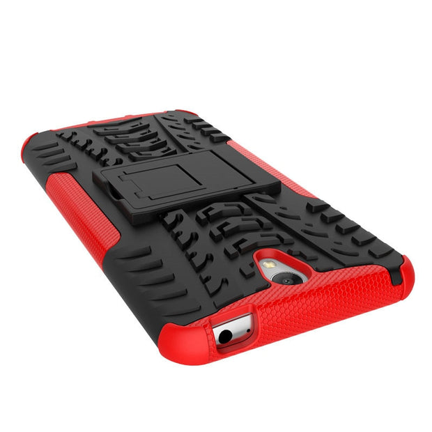 1.Dual Layer Kickstand Anti-Knock Phone Case For Lenovo Vibe S1 Cover Silicon&Plastic Armor Shockproof 2in1 Back Protector Case