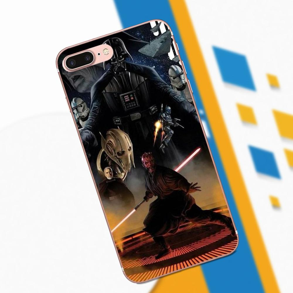 2 Kinds Darth Vader Star Wars TPU Design For Apple IPhone 4 4S 5 5C 5S SE 6 6S 7 8 Plus X XS Max XR