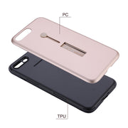 2 In 1 PC+TPU Phone Back Case Finger Holder Ring Stand Cover Shell Coque For Xiaomi 5X 6X Redmi 5Plus Note 3 4 4X 5 Pro 5A Prime