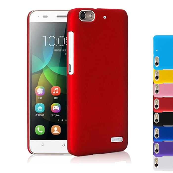 2015 Multi Colors Luxury Rubberized Matte Plastic Hard Case Cover For Huawei Honor 4C C8818 Huawei G Play Mini Cell Phone Covers
