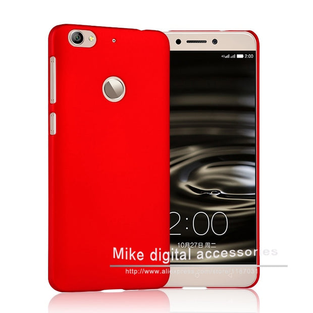 2015 New Multi Colors Luxury Rubberized Matte Plastic Hard Case Cover For Letv 1 S/letv 1s X500 5.5 Inch Cell Phone Cover Cases