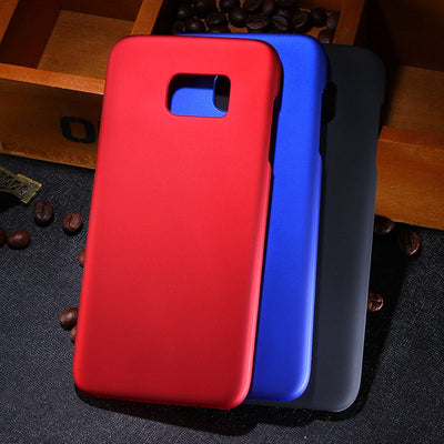 2016 New Multi Colors Luxury Rubberized Matte Plastic Hard Case Cover For Samsung Galaxy S7 Edge G935 G935F G935FD G9350