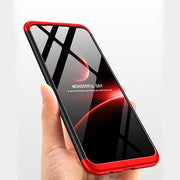 3 In 1 Back Protect For Huawei Mate 20 360 Degree Full Body For HUAWEI Mate 20 Lite Pro Frosted Matte PC Hard Protective Covers