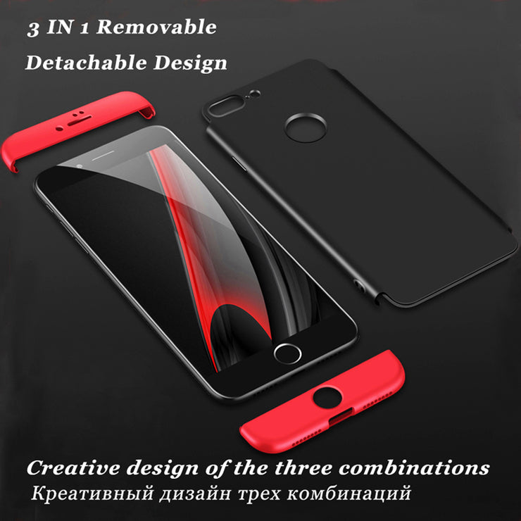 3 In 1 Full Protect Case For IPhone XS XS MAX XR X 360 Degree Cover Back Case For IPhone X XR XS MAX Hard Protection Shockproof