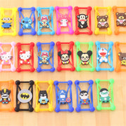 3D Cartoon Universal Cell Phone Holster Cases Fundas For LG K10 2017 K 10 M250 M 250 M250N X400 Case Silicon Coque Cover