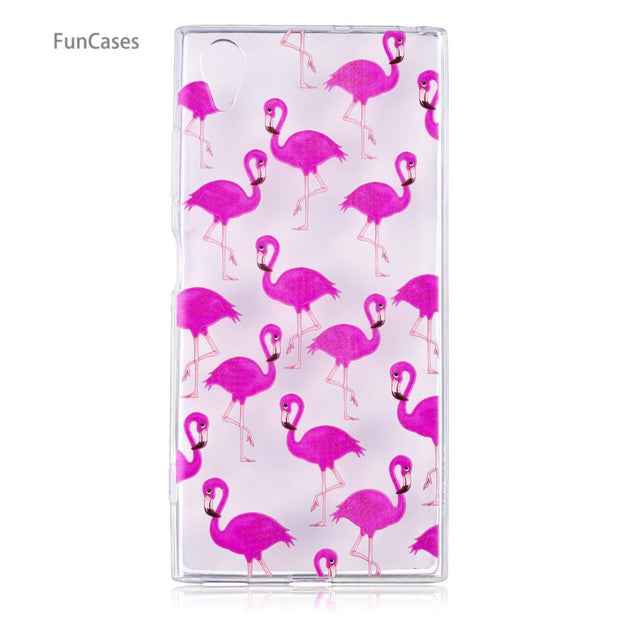50 Patterns! Cat Case SFor Capinha Sony XA1 Plus Soft TPU Back Cover Phone Glossy Telefon Aksesuar Case Sony Xperia XA1 Plus Owl