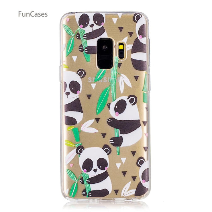 50 Patterns! Girl Case SFor Carcasa Samsung S9 Soft TPU Back Cover Para Sports Silicone Cover SFor Samsung Galaxy S9 Movil Tok