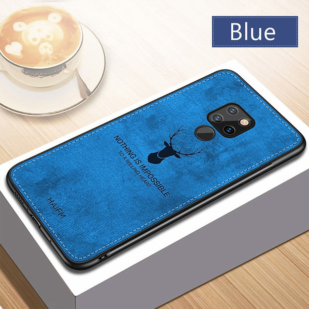 !ACCEZZ Cute Phone Case For Huawei Mate 20 Pro Luxury Protective Back Cover Case Pattern Anti-Knock Shell Case For Huawei Mate20