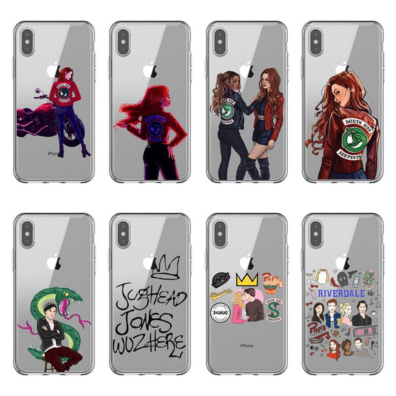 American TV Riverdale Phone Case For iPhone 5s se 6 6S Plus 7 7 Plus 8 575x575