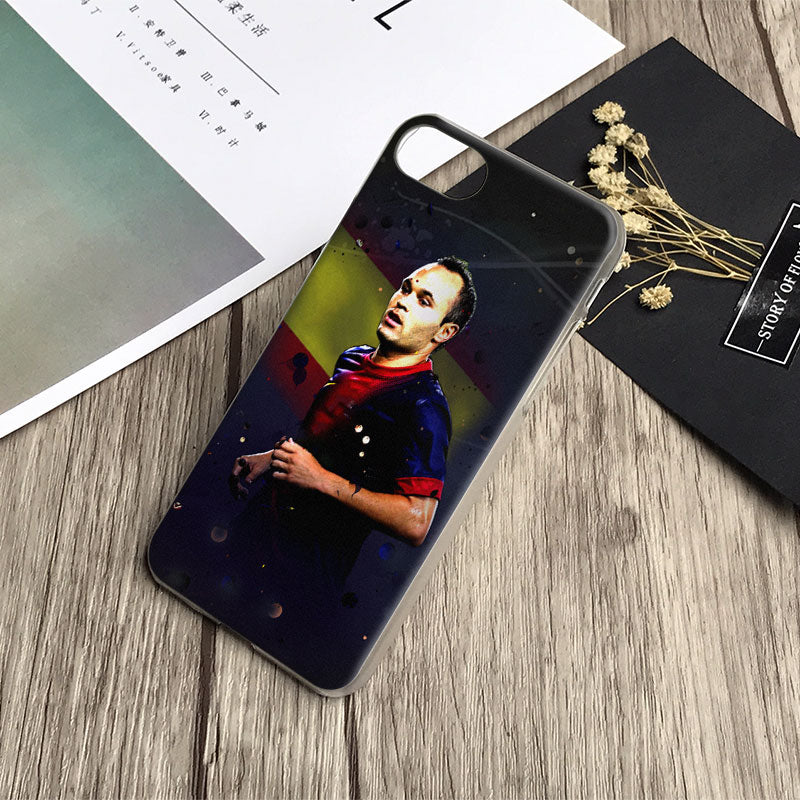 coque iphone 7 iniesta