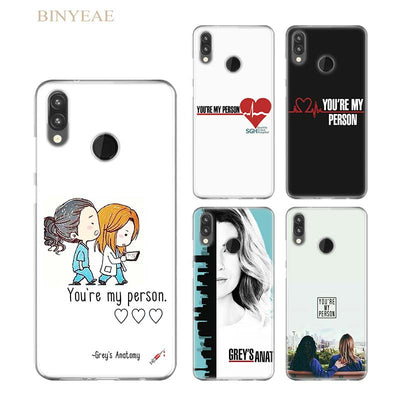 BINYEAE Grey's Anatomy Beautiful Silicone Case Cover For Huawei P Smart P8 P9 Lite 2017 P10 P20 Lite Pro P9 Lite Mini Soft TPU