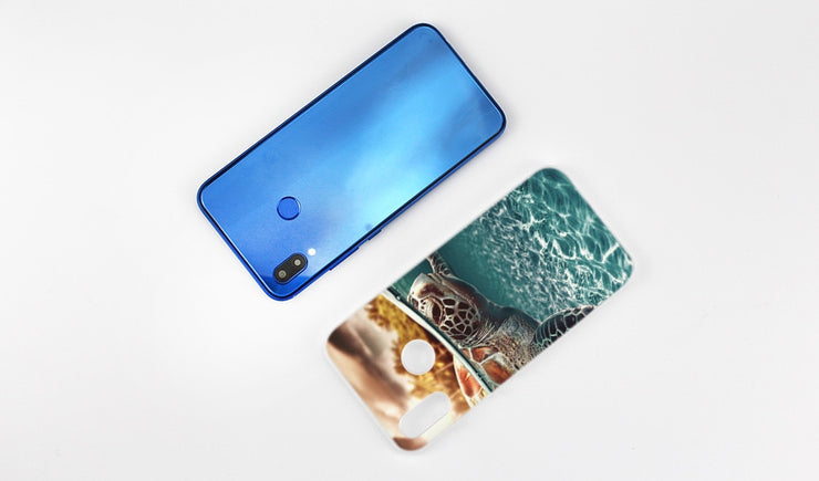 BINYEAE Sea Turtle Cute Coque Transparent Hard Case Cover Coque Shell For Huawei P20 Lite 10 Lite P Smart