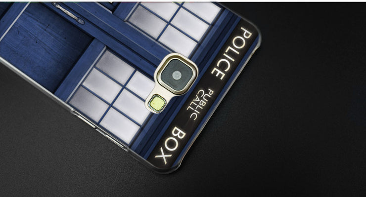 Phone Bags & Cases Binyeae Tardis Box Doctor Who Transparent Case Cover For Samsung A5 A3 A8 A7 2017 2018 2016 Sale Price Half-wrapped Case