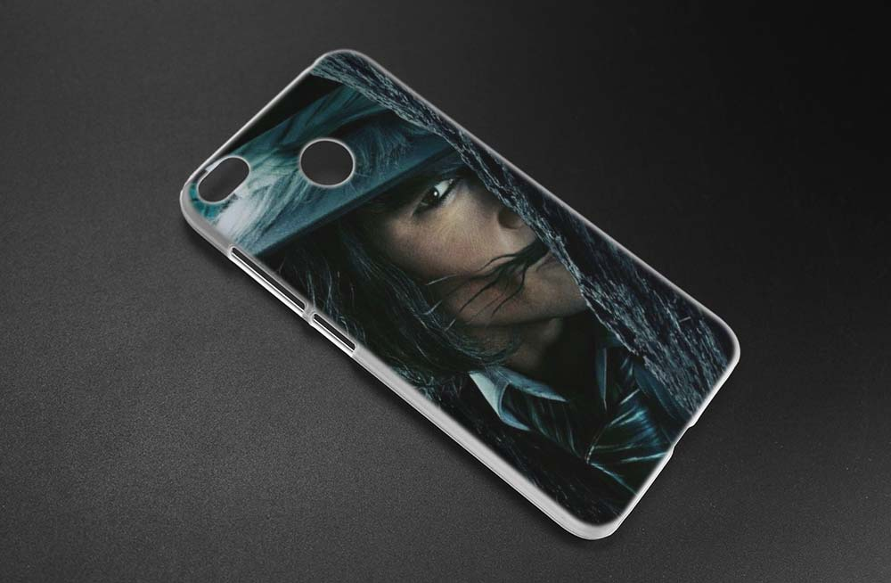 BINYEAE Johnny Depp Clear Hard Case Cover Shell For Xiaomi MI A2 A1 5X 6X Redmi Note 4X 4 4A 5 Plus