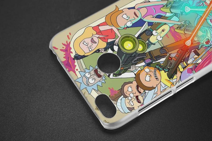 BINYEAE Rick And Morty Transparent Case Cover For Xiaomi Redmi 6 6A Pro Note 4 4X 5 5A Plus S2 Mi A1 5X