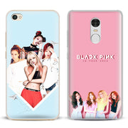 Blackpink Kpop Girl Group Phone Case Shell Cover For Xiaomi Redmi Note Western Cases