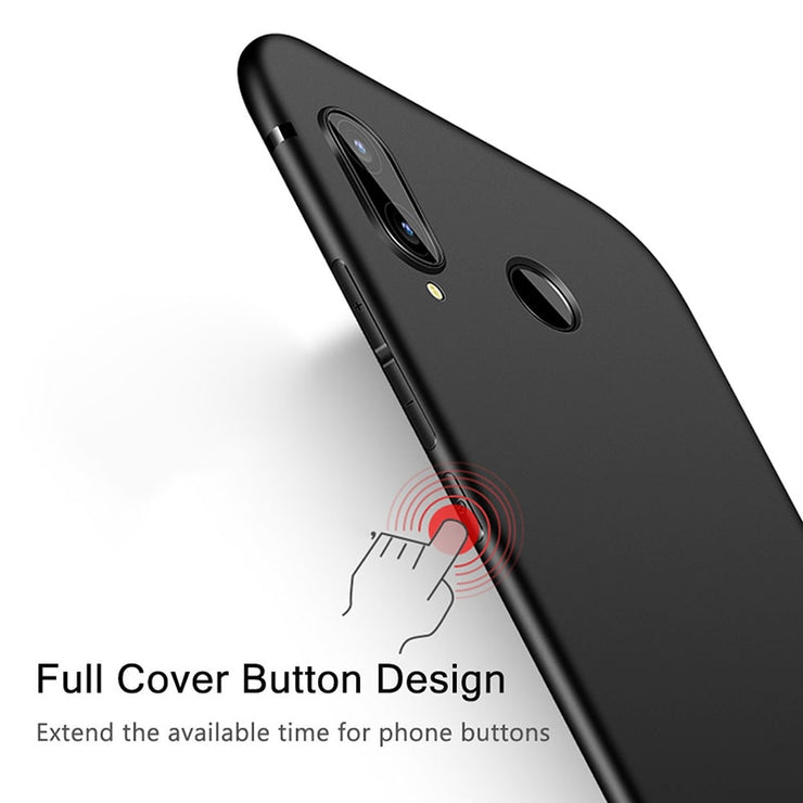 Back Case For Huawei Honor 8X Max Case Matte Bumper Soft TPU Silicone Phone Protected Back Case Cover For Honor 8X 8X Max