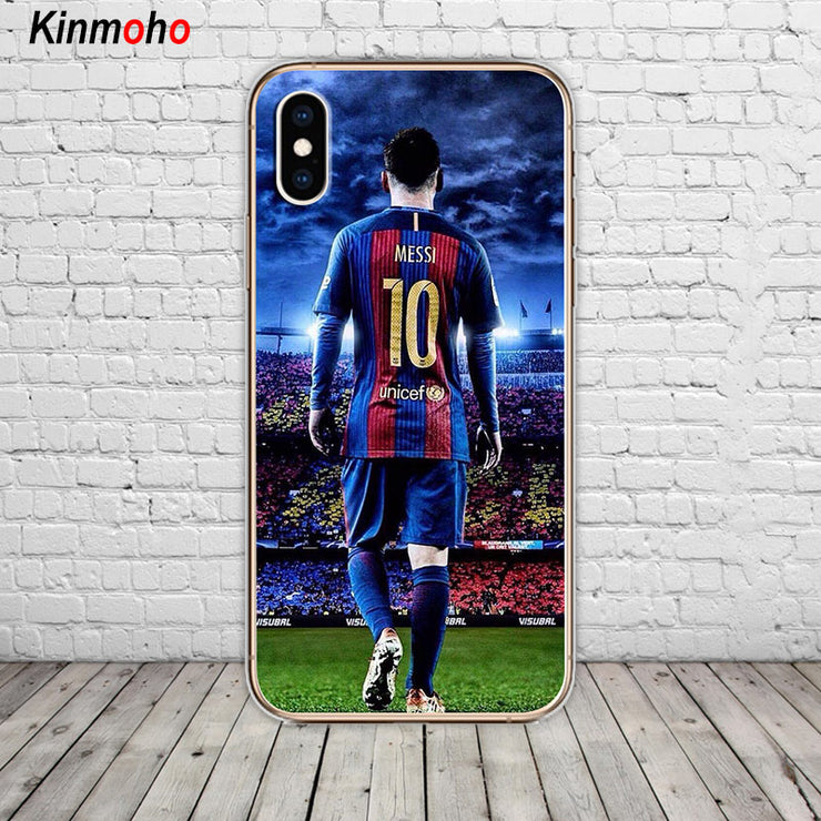 aa8c259e5 Barcelona Lionel Messi Philippe Coutinho Football Soft TPU Phone Case Cover  For IPhone 7 6 6S 8 Plus 5 5S SE X XS MAX XR Fundas