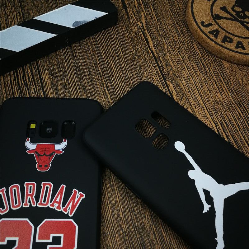 Basketball Sports Jordan Phone Cover Case For Samsung Galaxy S8 S9 ...