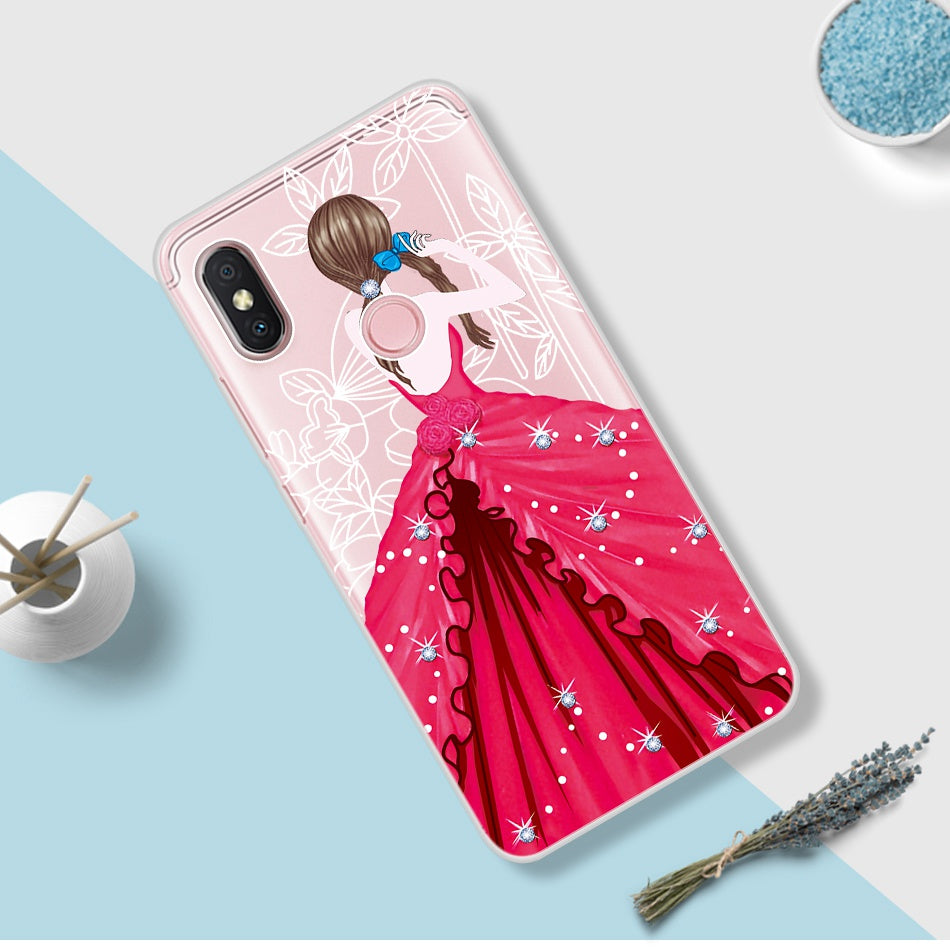 Beatuy Girl Case For Xiaomi Redmi S2 Case Soft Cover For Xiomi Redmi S 2 Y2 India Coque For Redmi 3s Case For Redmi 3s Pro Prime
