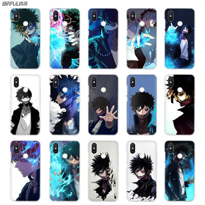 BinFul Anime My Hero Academia Transparent Hard Phone Case Cover For Xiaomi Mi Redmi Note 5 4 3 4X 5A Plus 6 Pro 64g S2