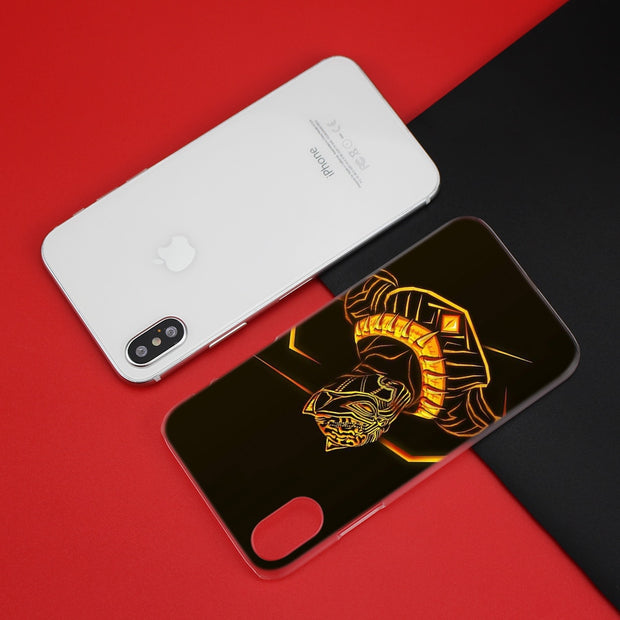 BinYeae Black Panther Erik Killmonger Case Cover Clear Hard PC For IPhone XS Max XR 7 8 6 6s Plus X 5 5s SE 5C 4 4S