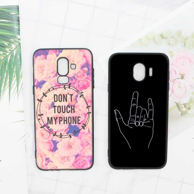 coque samsung j5 2017 dont touch my phone