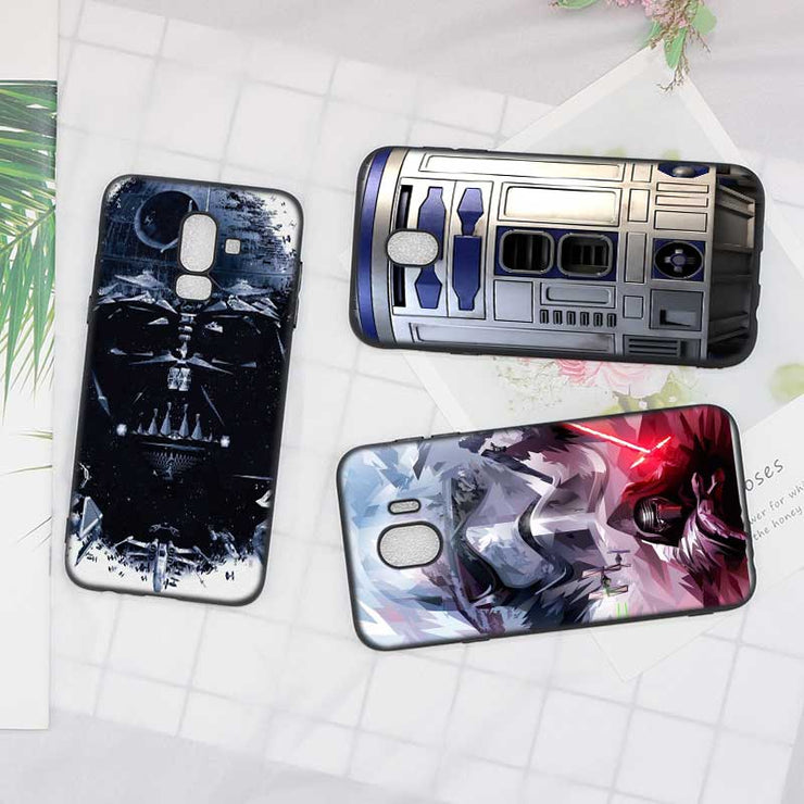 samsung galaxy j6 case star wars