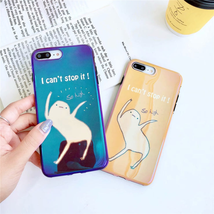 1bfa9f0759d3cc Blue Light Soft Phone Cover For IPhone X XS MAX XR Case For IPhone 6 ...