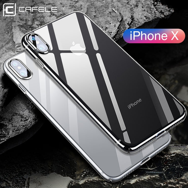 competitive price 9a212 d9c91 CAFELE Transparent Phone Case For IPhone X 10 XR XS MAX Cover Ultra Thin  Soft TPU Cover For IPhone XR X XSMAX Silicone Case