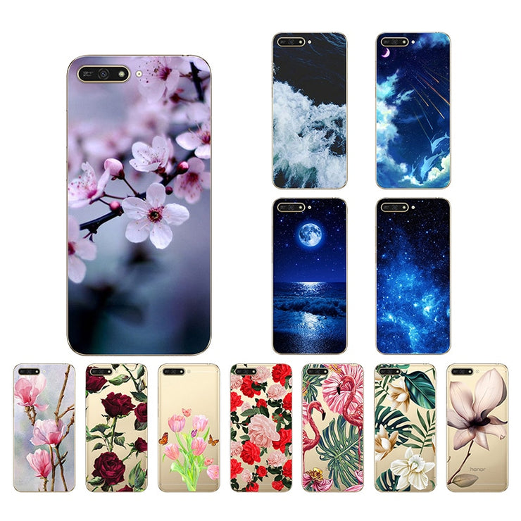 cover huawei y6 2018 silicone