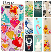 Cartoon Funda For Xiaomi Mi A1 Case Silicone Soft Flamingo Cute Pattern Painted Original Tpu For Xiaomi Mi A1 Phone Back Cover