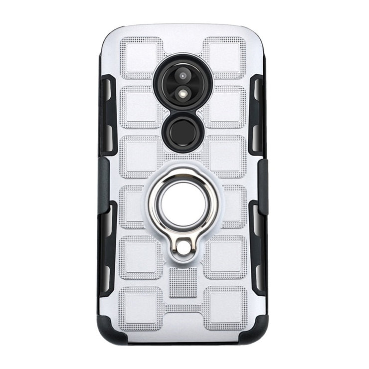 Case For Motorola E5 Play Shockproof Armor Case With Finger