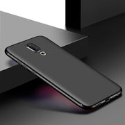 "Case For Meizu 16X Case Matte Back Cover Shockproof Cases For Meizu 16x 6.5""Anti-fall Ultra Thin Soft Silicone Case Fundas"