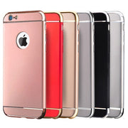 Case For Apple Iphone 5s SE 6 6s 7 8 Plus X Cover Shell For Iphone6plating 3 In 1 Protective Cover 6plus Frosted Tide Male Shell