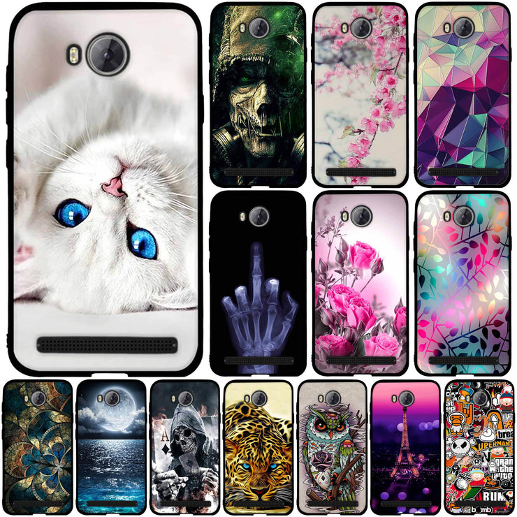 Case For Huawei Y3II Case Cover For Huawei Y3 2 Cover 3D Silicon Case For  Huawei Y3 II 4 5