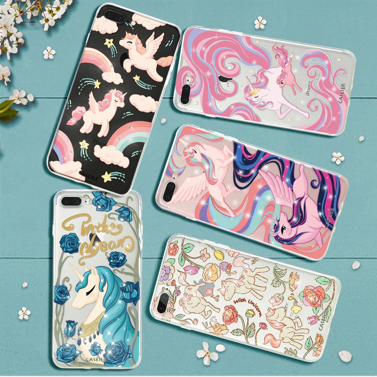 CASEIER Cute Unicorn Case For IPhone 6s