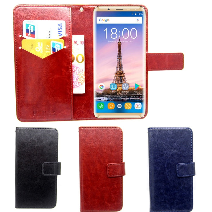 Casteel Classic Flight Series High Quality PU Skin Leather Case For Allview Soul X5 Style Case Cover Shield