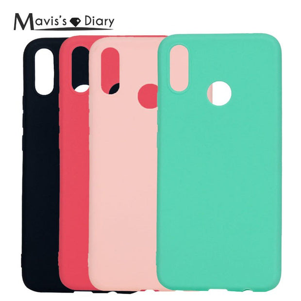 Colorful Luxury Phone Case For Huawei P Smart + Case Fashion Coque For Huawei P Smart Plus Case Silicone Cover Fundas Capa