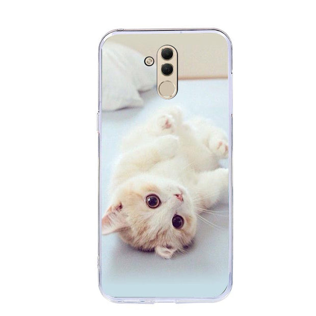 Colorful Print Case For Huawei Y6 Y5 Prime 2018 P20 P9 P10 Mate 10 Lite Honor 10 9 Lite 7C 7A Pro 8X 8C P Smart Soft TPU Cases