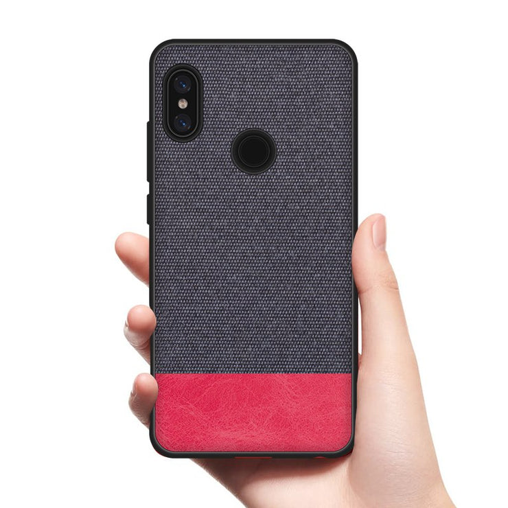 huge selection of a9a4e 9a3d4 CoolDeal Case For Xiaomi Redmi Note 5 AI Case Soft Silicone Edge Shockproof  Fabric Back Cover For Redmi Note 5 Pro