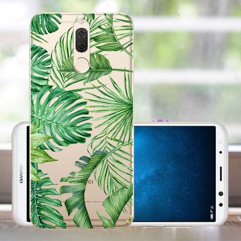 Coque Huawei Mate 10 Lite Case Silicone Phone Cover Mate 10 Lite Bumper Case 360 Soft TPU Huawei Mate 10 Lite Protector Case
