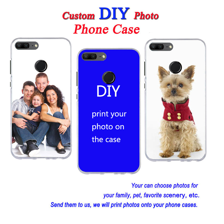 Custom DIY Print Photo Soft Silicone Case For Redmi Note 4X 5X 5A 4 5 Pro Redmi 5 Plus 5A S2 Shock Proof Back Cover