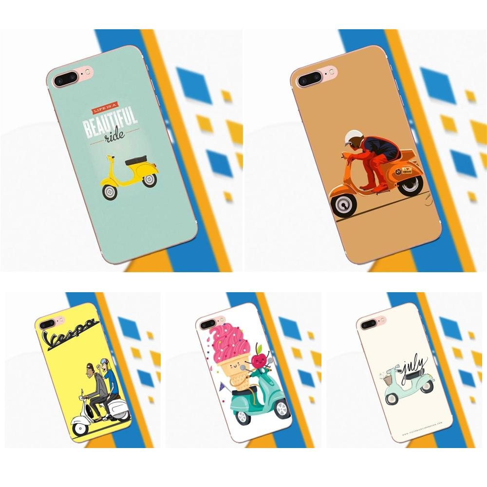 Cute Ride Pattern For Galaxy A3 A5 A7 On5 On7 2015 2016 2017 Grand Alpha G850 Core2 Prime S2 I9082 TPU
